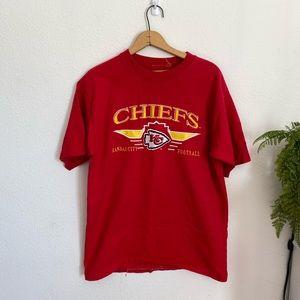 Kansas City Chiefs embroidered t-shirt